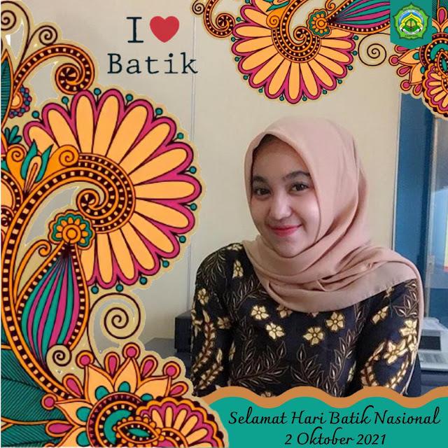 Link Twibbon Hari Batik Nasional 2 Oktober 2021