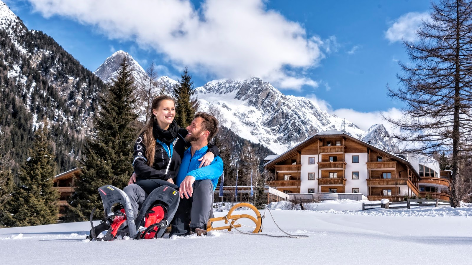"Dove andare a San Valentino || Un weekend in montagna ad Anterserva in un hotel ""Adults only"""