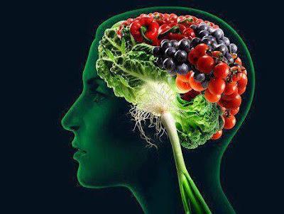 otak cedas dengan makanan