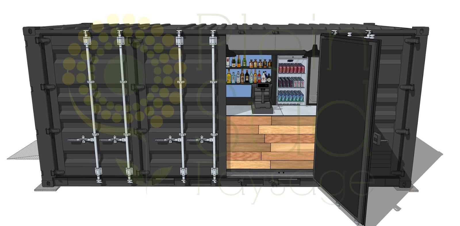 Container Aménagé Studio Prix aménagements extérieurs / carports / containers maritimes