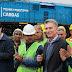 Macri inauguró 700 kilómetros de vías ronvadas del Belgrano Cargas en Salta