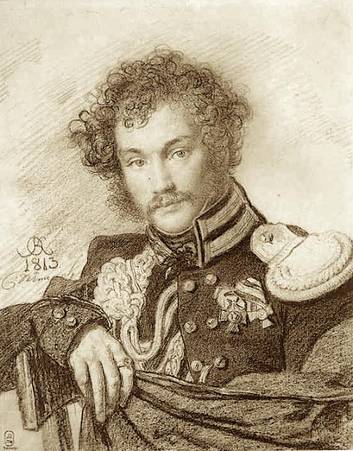 Orest Kiprensky  (1782-1836) Portrait of M. P. Lanskoy. 1813. The Russian Museum, St. Petersburg, Russia