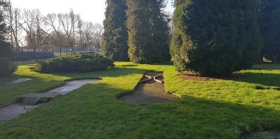Crazy Golf at Elmfield Park in Doncaster