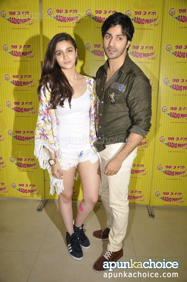injured Alia Bhatt radio mirchi