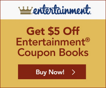 Entertainment 2017 Coupon Books $5 Off + Free Shipping