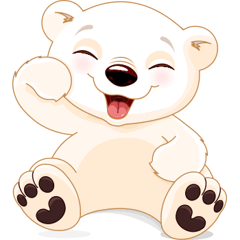 Laughing Polar Bear