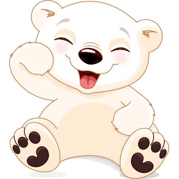 Laughing Polar Bear