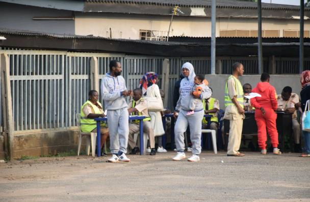 171 Nigerians return from Libya (Photos)