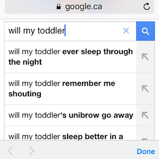 will my toddler