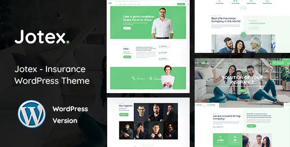 Best Insurance WordPress Theme