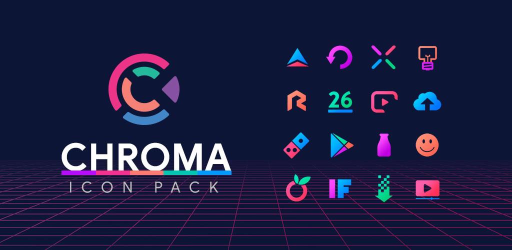Chroma - Icon Pack 3.2.8 Apk para Android