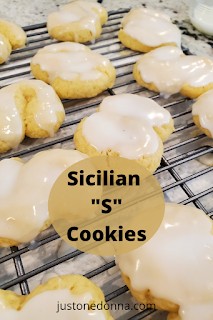 Make these Frosted Sicilian S Cookies for a treat with your coffee or tea.