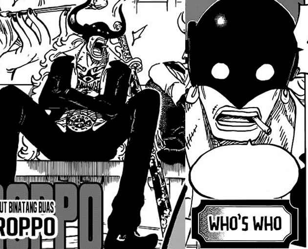 Who's Who One Piece