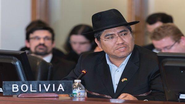 Bolivia denunciará golpe institucional en la OEA ante organismos internacionales