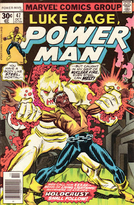 Luke Cage, Power Man #47, Zzzax Attax