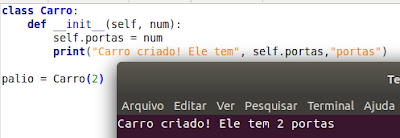 Como usar o método __initit__ em Python