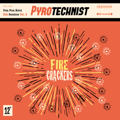 The album cover features an illustration of firework-like explosions emanating from the album's title.