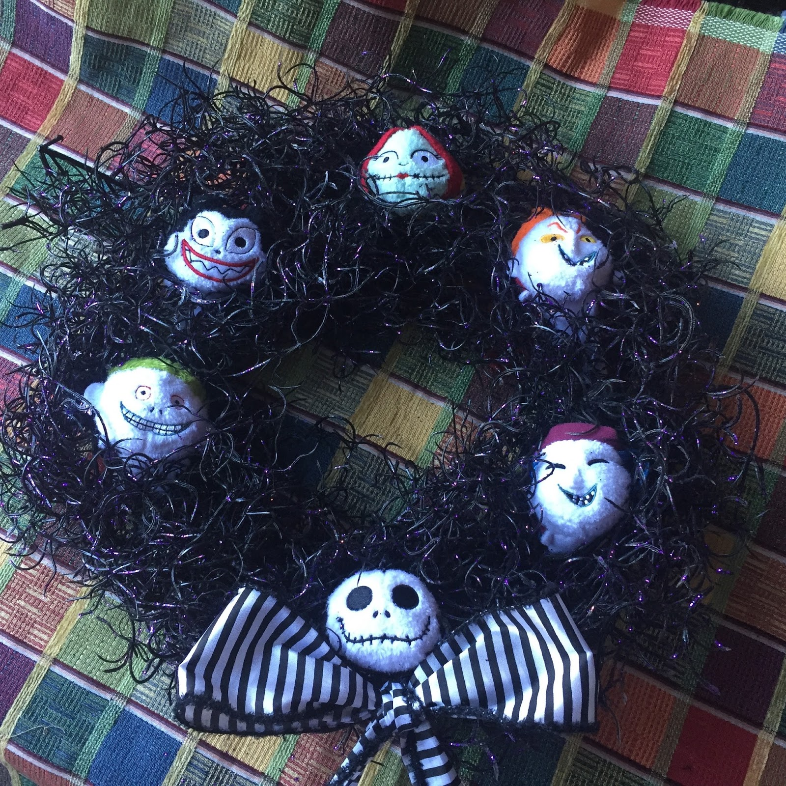 Mystery Playground: Nightmare Before Christmas Tsum Tsum Wreath