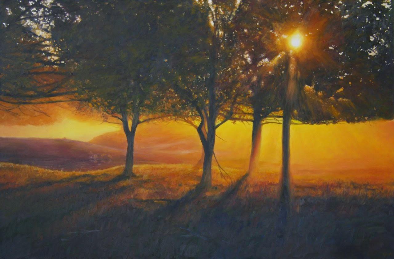 Além das Árvores - Matthew Weathers e suas pinturas | O pintor da luz