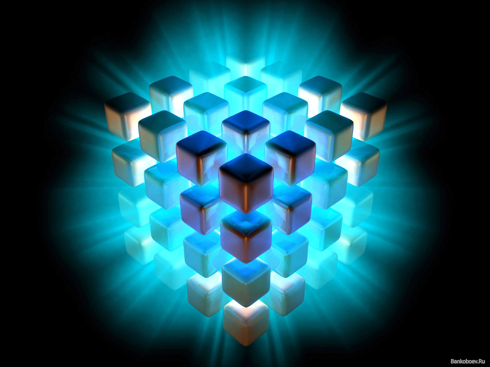 HD Wallpapers 87: 3d Graphics Cubes