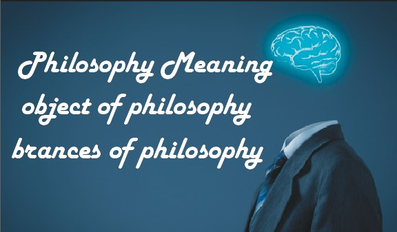 Philosophy: Meaning, Object, Usefulnes, and Branches