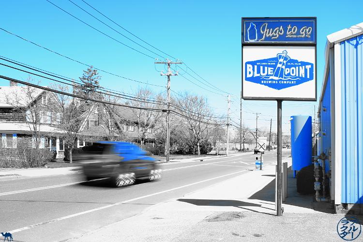 Le Chameau Bleu  - Voyage à Long Island New York - Brasseur de Bier de Patchogue