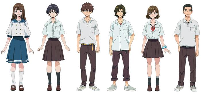 Sing A Bit Of Harmony (Ai no Utagoe o Kikasete) anime film - personajes