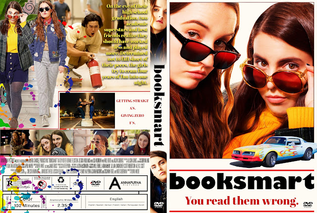 Booksmart DVD Cover