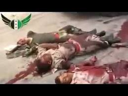 SYRIAN FSA TERRORISTS MOWED DOWN LIKE RATS IN WADI KHALED; AFGHAN KILLERS AMONG THE DEAD; 1