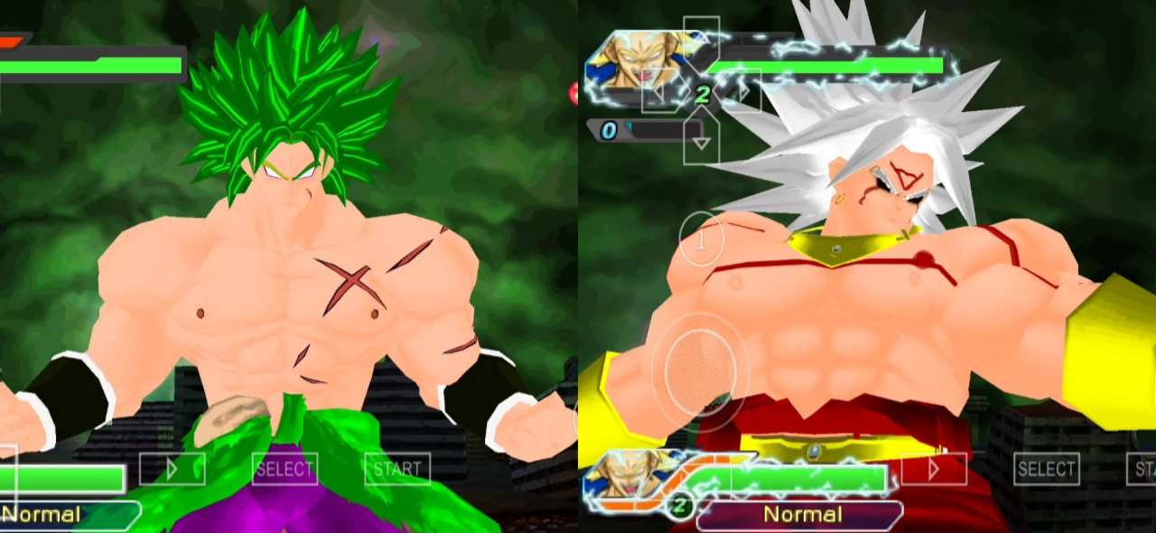 Broly Legendary Omni God Dbz Raging Blast