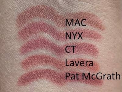 Lip Liner Pencil Nude MLBB Swatch