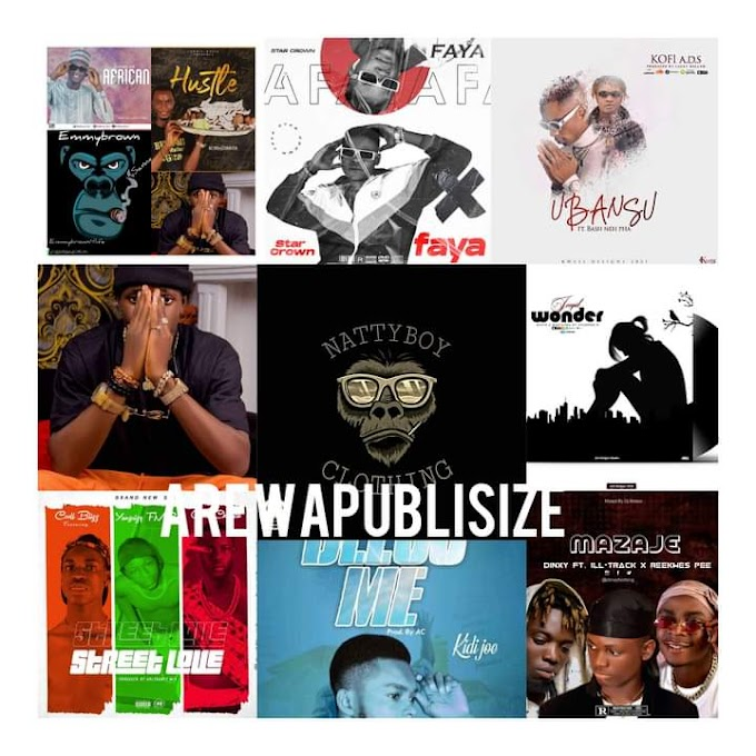 [Music Chart] #Arewapublisize top 10 Songs - April 2021 _ hosted by Nattyboy clothing