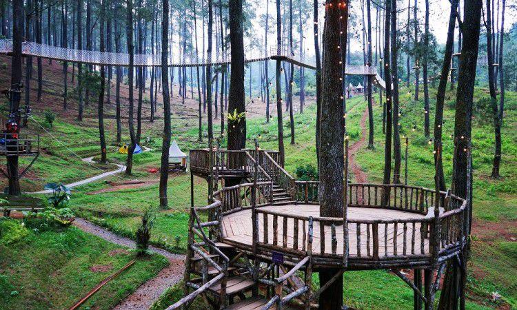 15 Tempat Wisata Alam di Bandung yang Paling Hits