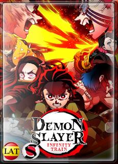 Demon Slayer: Mugen Train La Película (2020) HD 720P LATINO/JAPONES/INGLES