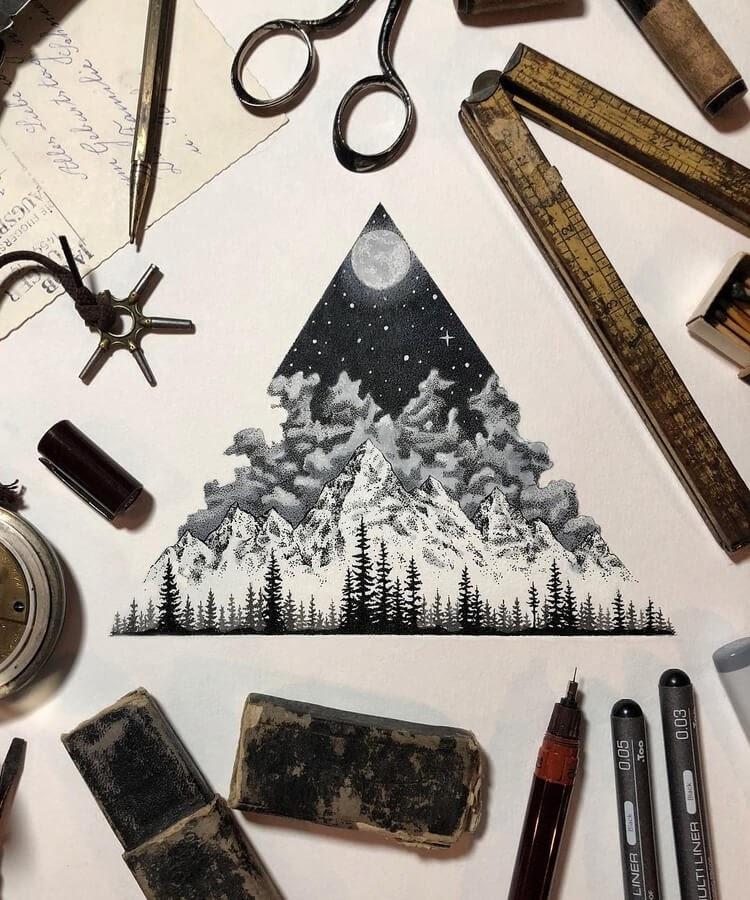 07-Triangular-nature-scene-Nicholas-Baker-www-designstack-co