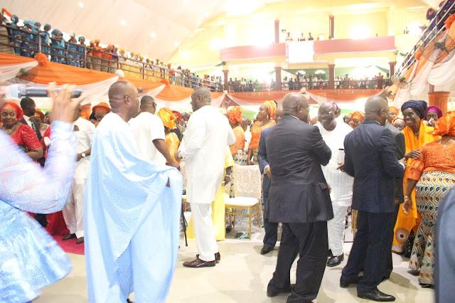 Democracy Day Celebration / Thanksgiving Service Akwa Ibom State 2017: SEE PHOTO OF DIGNITARIES