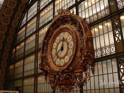 Paris Rive Gauche reloj