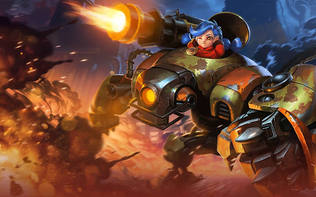 Jawhead Steel Sweetheart Heroes Fighter of Skins Mobile Legends Wallpaper HD for PC