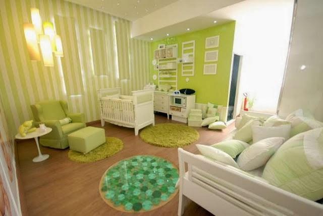 Cuartos de beb en color verde dormitorios colores y estilos - Colores habitacion bebe ...