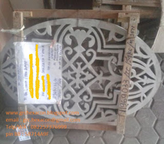 ornamen krawangan GRC motif unik Jakarta
