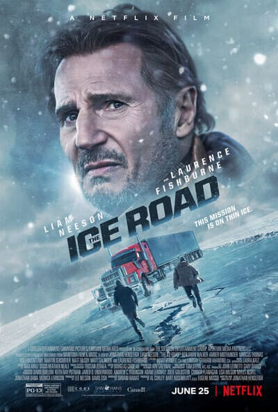 Film The Ice Road Sinopsis & Review Movie (2021)