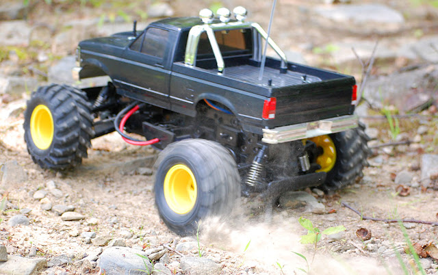 Tamiya Blackfoot Xtreme action photo