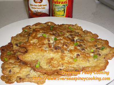 Tortang Beef Giniling