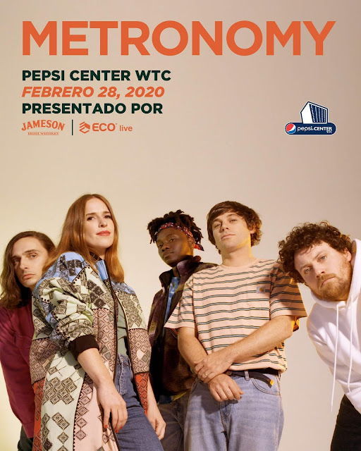 Metronomy en Pepsi Center