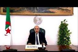 Inilah Pidato Presiden Aljazair, Abdelmadjid Tebboune di Debat Umum PBB ke 75