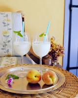 diy milk mint drink recipe