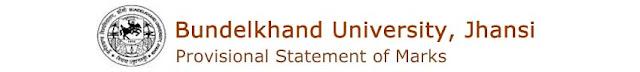 Bundelkhand University (BU) Results 2017 Download at bujhansi.org