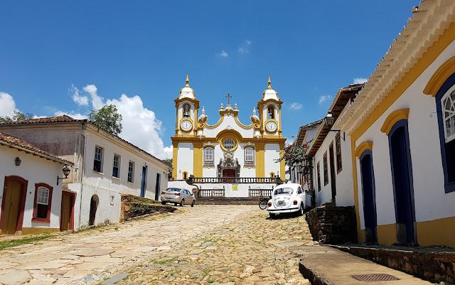 Igreja Matriz de Santo Antônio - Tiradentes - Minas Gerais - Segunda igreja com mais ouro do Brasil