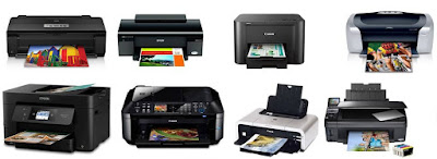 The inkjet printers