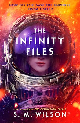 The Infinity Files by SM Wilson cover
